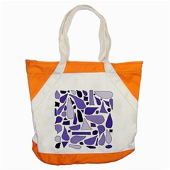 Silly Purples Accent Tote Bag