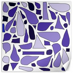 Silly Purples Canvas 16  X 16  (unframed)