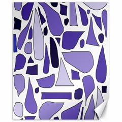 Silly Purples Canvas 16  X 20  (unframed)
