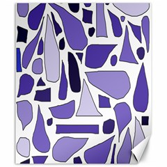 Silly Purples Canvas 20  x 24  (Unframed)