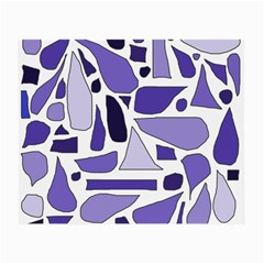 Silly Purples Glasses Cloth (Small, Two Sided)