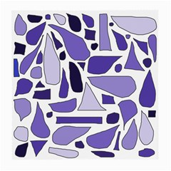 Silly Purples Glasses Cloth (Medium, Two Sided)