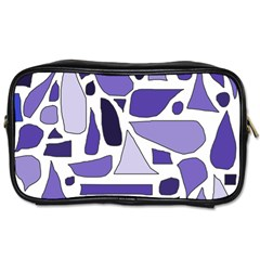 Silly Purples Travel Toiletry Bag (two Sides)
