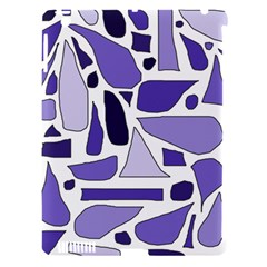Silly Purples Apple Ipad 3/4 Hardshell Case (compatible With Smart Cover)