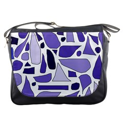 Silly Purples Messenger Bag