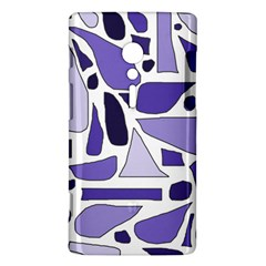 Silly Purples Sony Xperia ion Hardshell Case