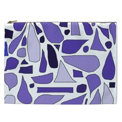 Silly Purples Cosmetic Bag (xxl)