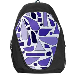 Silly Purples Backpack Bag