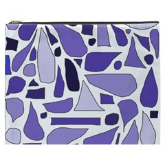 Silly Purples Cosmetic Bag (XXXL)
