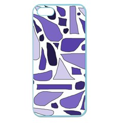 Silly Purples Apple Seamless Iphone 5 Case (color)