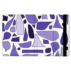Silly Purples Apple Ipad 2 Flip Case