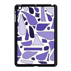 Silly Purples Apple Ipad Mini Case (black)