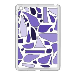 Silly Purples Apple Ipad Mini Case (white)