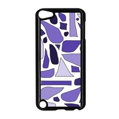 Silly Purples Apple iPod Touch 5 Case (Black)