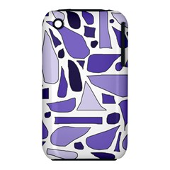 Silly Purples Apple Iphone 3g/3gs Hardshell Case (pc+silicone)