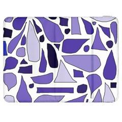 Silly Purples Samsung Galaxy Tab 7  P1000 Flip Case
