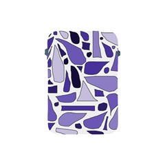 Silly Purples Apple Ipad Mini Protective Sleeve