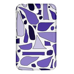 Silly Purples Samsung Galaxy Tab 3 (7 ) P3200 Hardshell Case