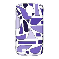 Silly Purples Samsung Galaxy S4 Classic Hardshell Case (PC+Silicone)