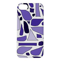 Silly Purples Apple iPhone 5S Hardshell Case