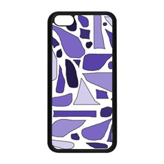 Silly Purples Apple Iphone 5c Seamless Case (black)