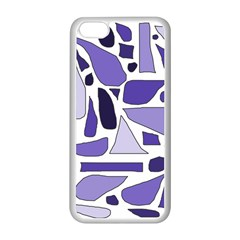 Silly Purples Apple iPhone 5C Seamless Case (White)