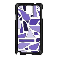 Silly Purples Samsung Galaxy Note 3 N9005 Case (black)