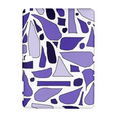 Silly Purples Samsung Galaxy Note 10.1 (P600) Hardshell Case