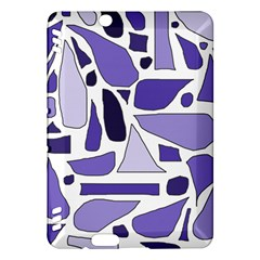 Silly Purples Kindle Fire HDX 7  Hardshell Case