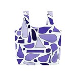 Silly Purples Reusable Bag (S) Back