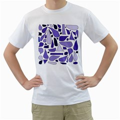 Silly Purples Men s T-Shirt (White)