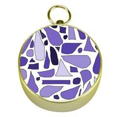 Silly Purples Gold Compass