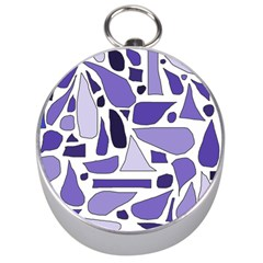 Silly Purples Silver Compass