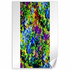 The Neon Garden Canvas 24  x 36  (Unframed)