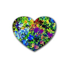 The Neon Garden Drink Coasters 4 Pack (Heart)