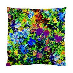The Neon Garden Cushion Case (Two Sided)