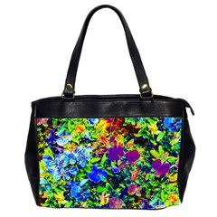 The Neon Garden Oversize Office Handbag (Two Sides)