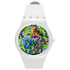 The Neon Garden Plastic Sport Watch (medium)