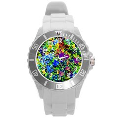 The Neon Garden Plastic Sport Watch (large)