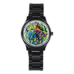 The Neon Garden Sport Metal Watch (Black)