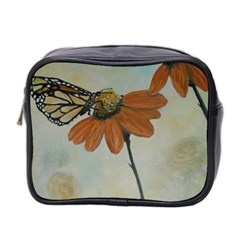 Monarch Mini Travel Toiletry Bag (two Sides)