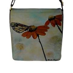 Monarch Flap Closure Messenger Bag (Large)