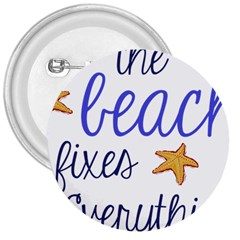 The Beach Fixes Everything 3  Button