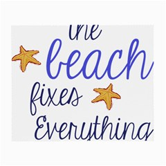 The Beach Fixes Everything Glasses Cloth (Small)