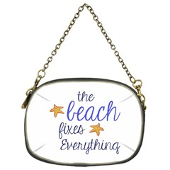 The Beach Fixes Everything Chain Purse (One Side)