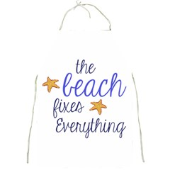 The Beach Fixes Everything Apron