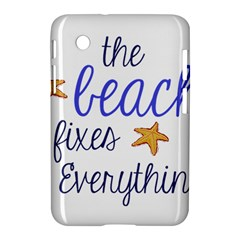The Beach Fixes Everything Samsung Galaxy Tab 2 (7 ) P3100 Hardshell Case