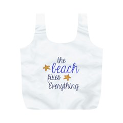 The Beach Fixes Everything Reusable Bag (M)