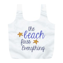 The Beach Fixes Everything Reusable Bag (L)
