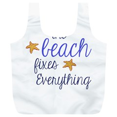 The Beach Fixes Everything Reusable Bag (XL)